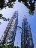 The Petronas Twin Towers, Kuala Lumpur, Malaysia, Asia Photographic Print by Robert Francis