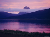Midnight Sun at Nesna, Norway, Scandinavia, Europe Photographic Print by Kim Hart