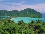 Koh Phi Phi, Limestone Island That Typifies the Coastline Around Phuket and Krabi, Thailand, Asia Photographic Print by Robert Francis