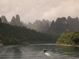 Li River, Guilin, Guangxi Province, China, Asia Photographic Print by Angelo Cavalli
