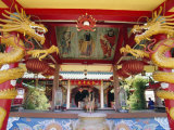 Chinese Temple in Miri, Sarawak, Island of Borneo, Malaysia Photographic Print by Robert Francis