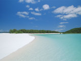 Whitehaven Beach on the East Coast, Whitsunday Island, Queensland, Australia Photographic Print by Robert Francis