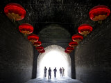 South Gate of the Ancient City Walls, Xi'An, China, Asia Photographic Print by Andrew Mcconnell