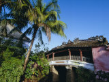 The Japanese Covered Bridge, First Built in 1593, Hoi An, Vietnam, Indochina, Southeast Asia, Asia Photographic Print by Robert Francis