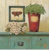 Garden Cabinet Print by Arnie Fisk