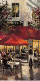 Tribeca Bar Poster par Brent Heighton