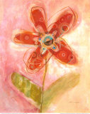 Lyrical Flower II Prints by Robbin Rawlings