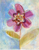 Whimsical Flower I Prints by Robbin Rawlings
