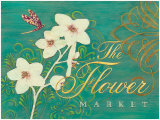 The Flower Market Posters by Angela Staehling