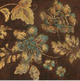 Textile Floral II Print by  Regina-Andrew Design