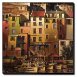 Mediterranean Gold Stretched Canvas Print by Michael O&#39;Toole