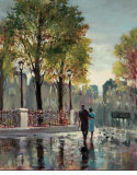 Boulevard Walk Arte por Brent Heighton