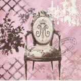Baroque Seating Affiche par Chad Barrett