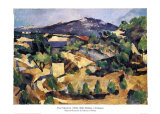 Midday, L'Estaque Prints by Paul Cézanne