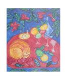 Table of Eden Prints by Gemma Cotsen