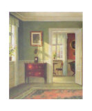 Sunny Interior Posters by Carl Holsoe