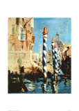 Grand Canal, Venice Prints by Édouard Manet