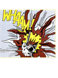 Whaam&#160;! - Panneau 2/2 du diptyque Poster par Roy Lichtenstein