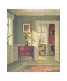 Sunny Interior Posters af Carl Hilsoe