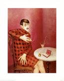 Sylvia Von Harden Reproduction procédé giclée par Otto Dix