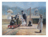 Model Railway Prints by Louis Legrand