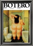 Bath Posters by Fernando Botero