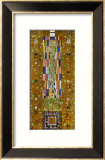 Sketch for The Knight from the Frieze of the Palais Stoclet, Brussels, 1908-1910 Framed Giclee Print by Gustav Klimt