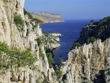 Calanques De Cassis, Bouches Du Rhone, Provence, France, Europe Photographic Print by Bruno Morandi