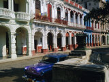Paseo De Marti, Prado Colonial Quarter, Havana, Cuba Photographic Print by J P De Manne