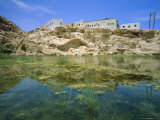 Wadi Shaab Oasis, Oman, Middle East, Photographic Print