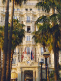 The Carlton Hotel on the Croisette, Cannes, Alpes Maritime, France Reproduction photographique par J P De Manne