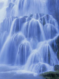 Waterfall, Les Messieurs, Jura-Baume, Franche-Comte, France, Europe Photographic Print by Bruno Morandi