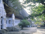 The Buddhist Cave Temples at Dambulla, in the Sigiriya Area, Sri Lanka Photographic Print by J P De Manne