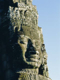 The Bayon Temple, Angkor Wat, Angkor, Siem Reap, Cambodia, Asia Photographic Print by Bruno Morandi