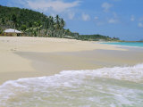 Johnson's Point Beach, South-West Coast, Antigua, West Indies, Caribbean Photographic Print by J P De Manne