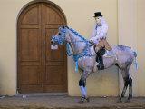 Oristano-La Santiglia Carnival, Sardinia, Italy, Europe Photographic Print by Bruno Morandi