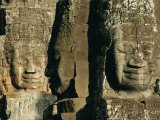 The Bayon Temple, Angkor, Siem Reap, Cambodia, Indochina, Asia Photographic Print by Bruno Morandi