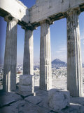 City from the Parthenon, Athens, Greece, Europe Photographic Print by John Ross