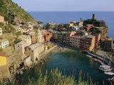 Vernazza, Cinque Terre, Liguria, Italy, Europe Photographic Print by Bruno Morandi