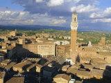 Siena, Tuscany, Italy Photographic Print by Bruno Morandi