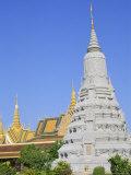 Royal Palace, Phnom Penh, Cambodia, Indochina, Asia Photographic Print by Bruno Morandi