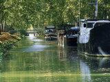 Brienne Canal, Toulouse, Haute-Garonne, Midi-Pyrenees, France, Europe Reproduction photographique par J P De Manne