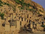 Village of Banani, Sanga (Sangha) Region, Bandiagara Escarpment, Dogon Region, Mali, Africa Photographic Print by Bruno Morandi