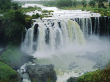 Waterfall, Blue Nile Near Lake Tana, Gondar, Ethiopia, Africa Photographic Print by J P De Manne