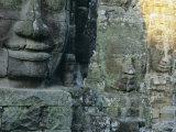 The Bayon Temple, Angkor, Siem Reap, Cambodia, Indochina, Asia Photographic Print by Bruno Morandi