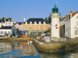 Port Sauzon, Belle-Ile-En-Mer, Breton Islands, Morbihan, France Photographic Print by J P De Manne