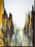Urban Abstract No. 141 Stretched Canvas Print by Gregory Lang