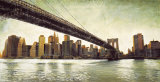 Brooklyn Bridge View Posters by Matthew Daniels