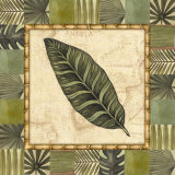 Tropical Leaf III Prints by Charlene Audrey