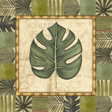 Tropical Leaf IV Prints by Charlene Audrey